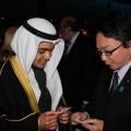 クウェート大使館員と