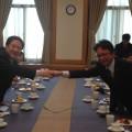 韓国外務委員長と